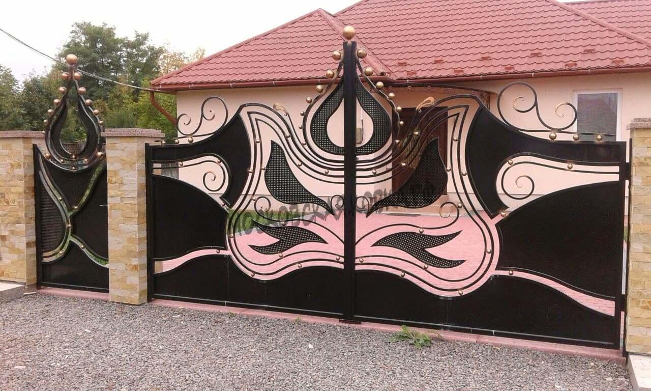 Оригинальные кованые ворота Артикул КВ-040