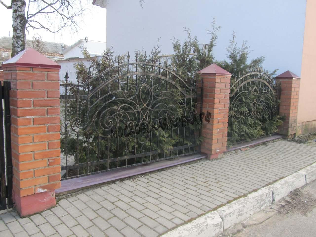 Забор кованый недорого Артикул № КЗ-034