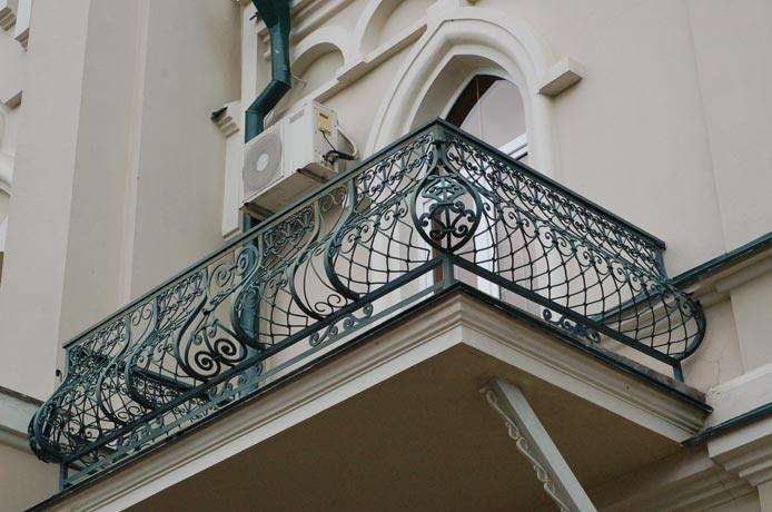 Выпуклые ограждения для балкона АРТИКУЛ КБ 009