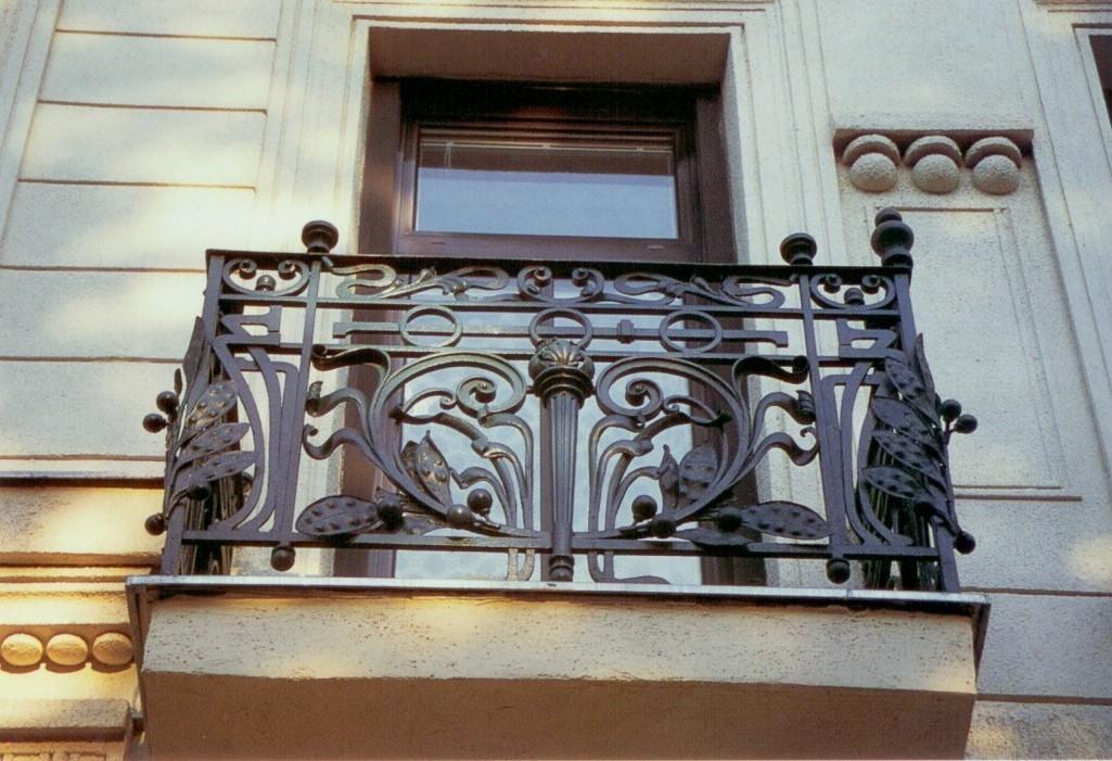 Ограждения кованые для балкона АРТИКУЛ КБ 017