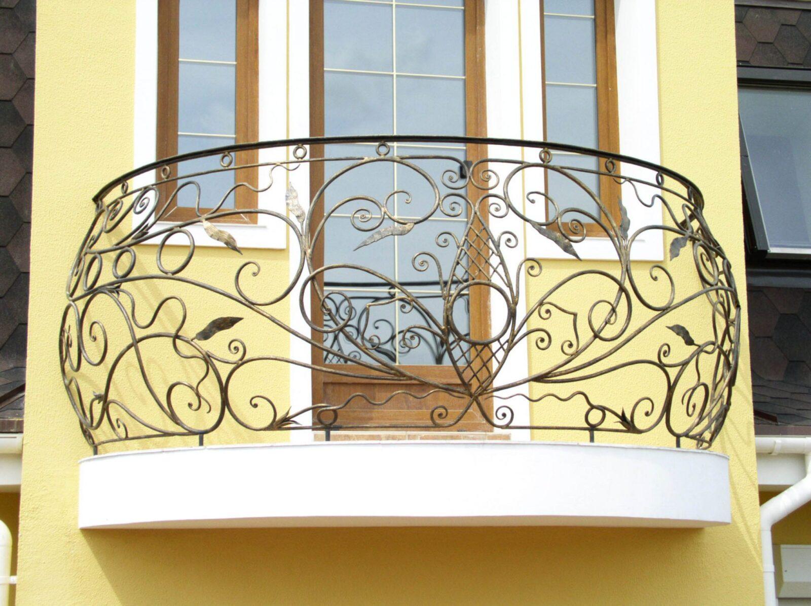 Воздушное ограждение балкона АРТИКУЛ КБ 023