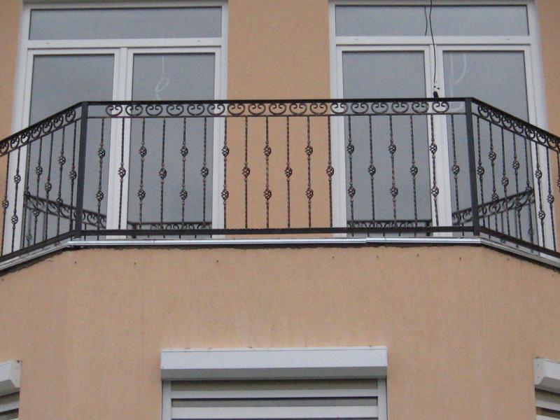 Бюджетные ограждения балкона АРТИКУЛ КБ 013
