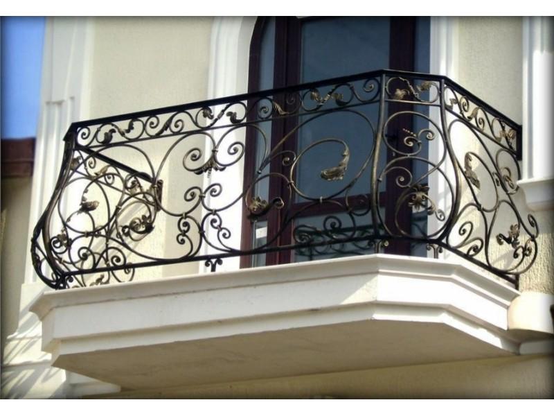 Ограждения балкона кованые АРТИКУЛ КБ 012