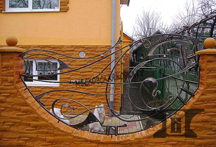 Оригинальный кованый забор Артикул № КЗ-039