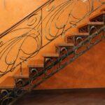 Кованая лестница и ограждение