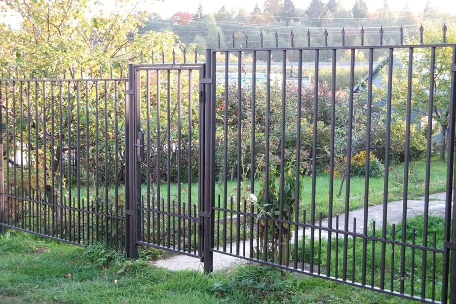 Металлический сварной забор для дачи Артикул № КЗ-026