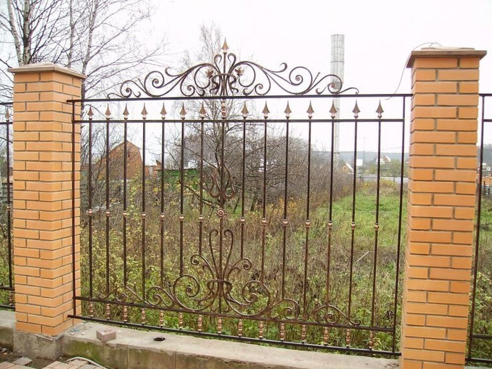 Кованый забор Артикул № КЗ-016