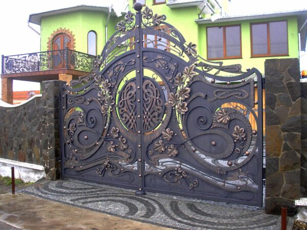 Кованые ворота Артикул КВ- 001