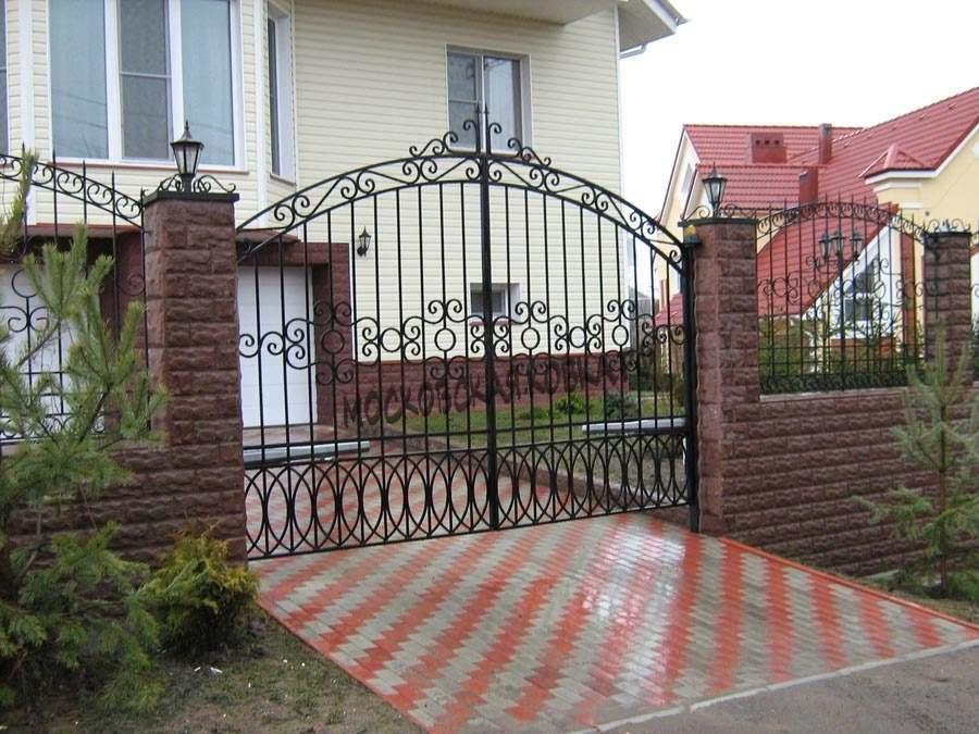 Классические кованые ворота Артикул КВ-022