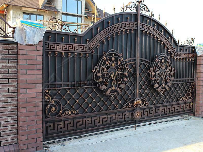 Элитные кованые ворота Артикул КВ-024
