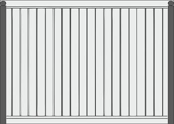 Забор 700 рублей за метр