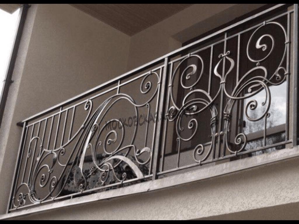 Кованое ограждение балкона АРТИКУЛ КБ 032