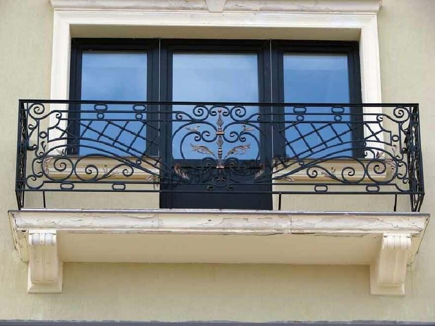 Ограждения балкона кованые АРТИКУЛ КБ 057