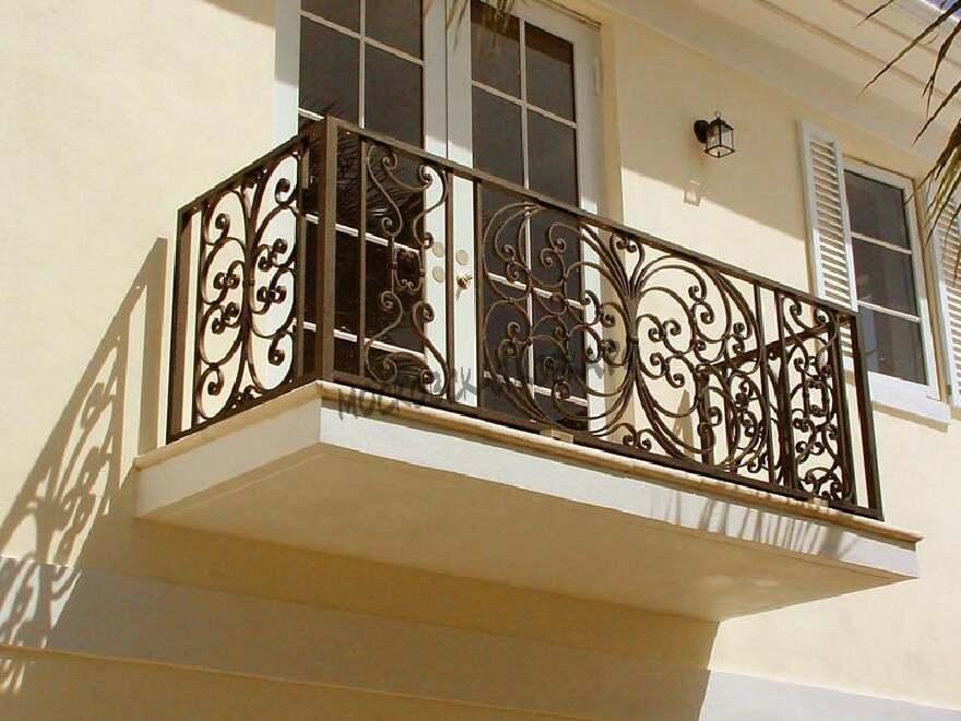 Кованое ограждение для балкона АРТИКУЛ КБ 067