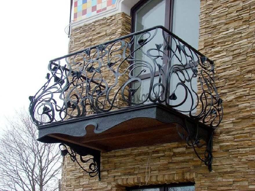 Кованые ограждения для балкона АРТИКУЛ КБ 079