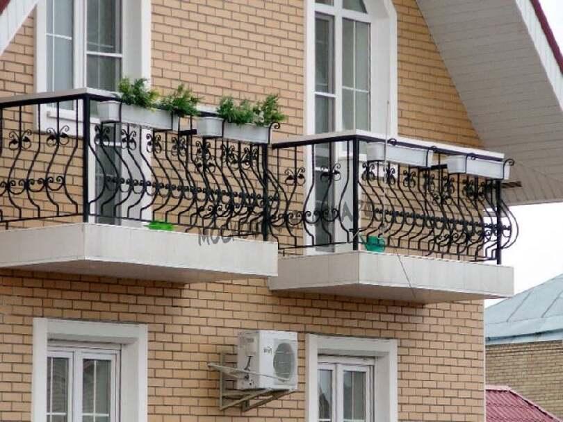 Сварные ограждения балкона АРТИКУЛ КБ 038