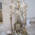 Кованый каминный набор