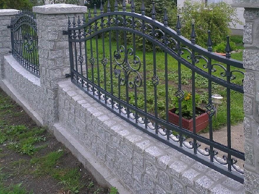 Забор сварной с элементами ковки Артикул № КЗ-074