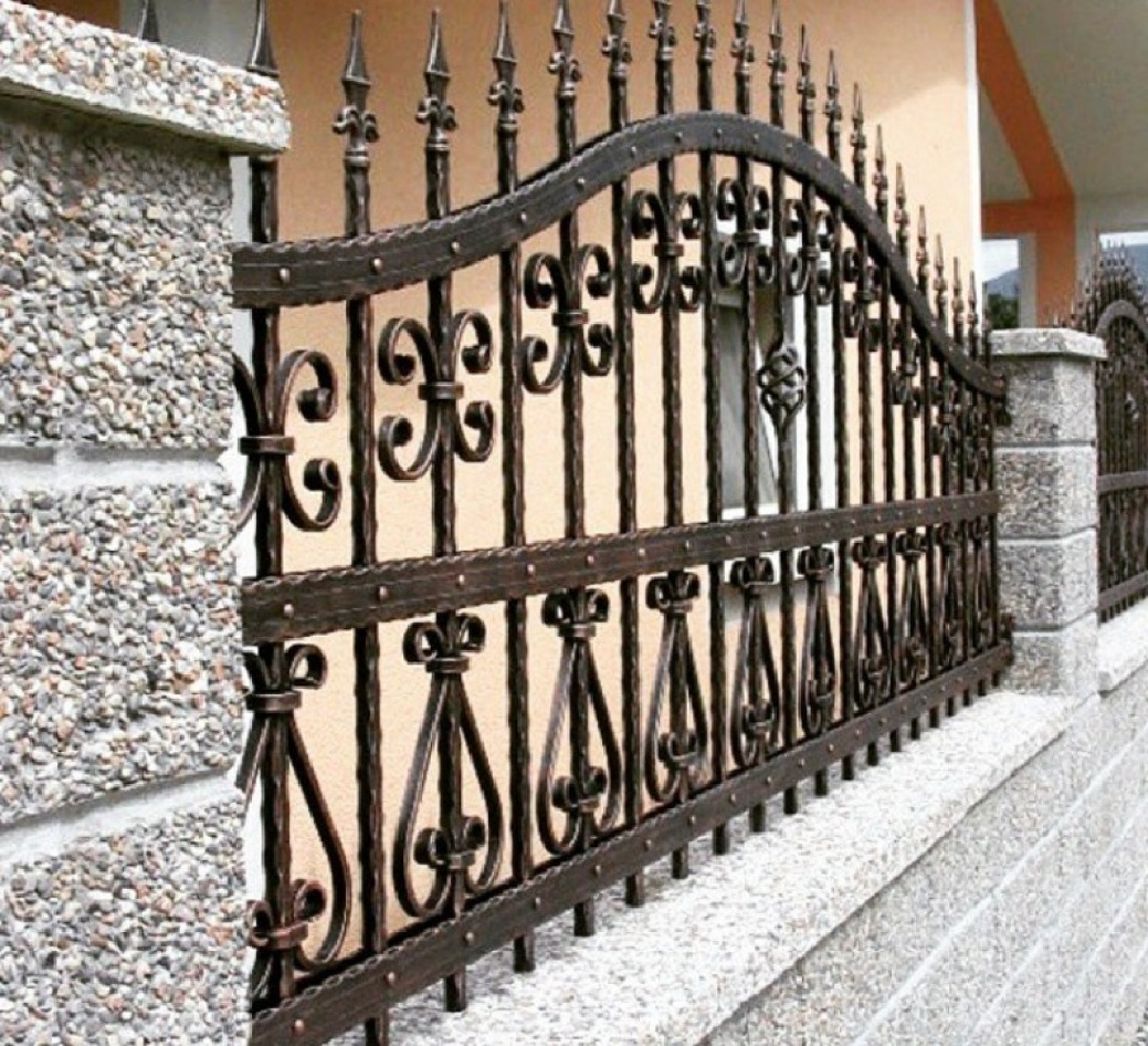 Забор кованый Артикул № КЗ-067