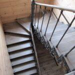 Авторская кованая лестница (3)
