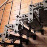 Авторская кованая лестница (4)