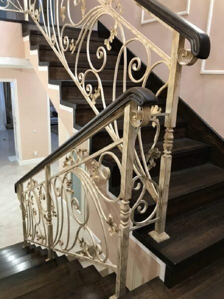 Кованые перила для лестницы АРТИКУЛ КП 182