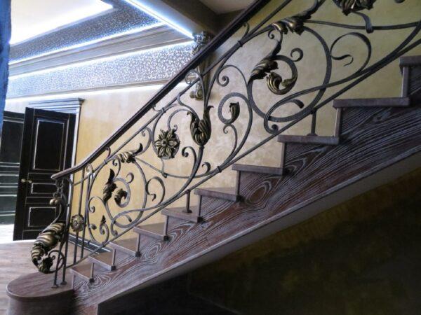 Кованые перила для лестницы АРТИКУЛ КП 183