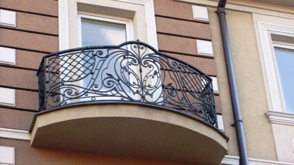 Кованые перила для балкона АРТИКУЛ КП 173