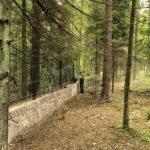Кованый забор для загородного дома установка
