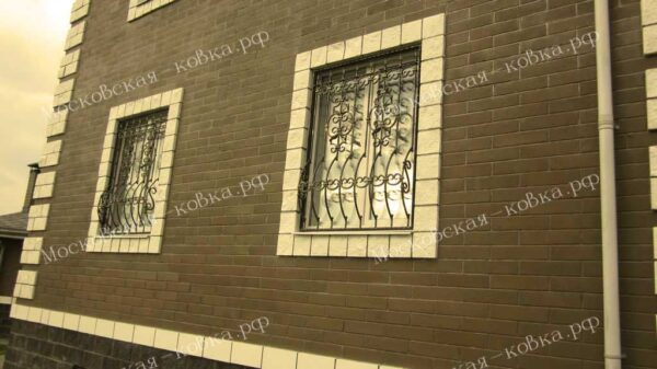 Кованая решетка на окно2020 (11)