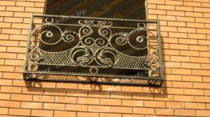 Кованая решетка на окно2020 (14)