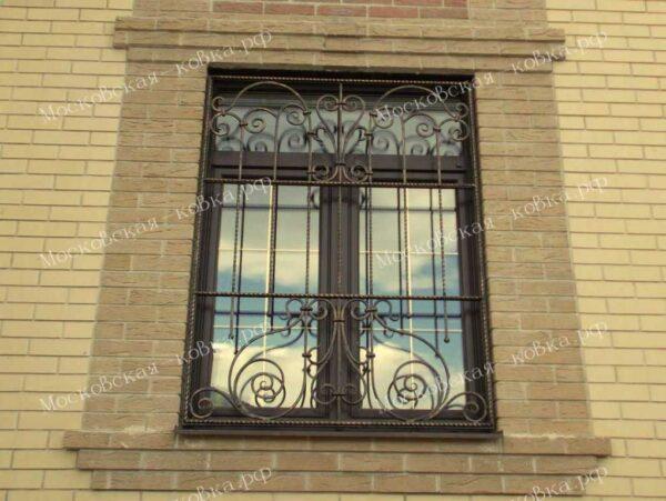 Кованые решетки на окна Артикул КР-008