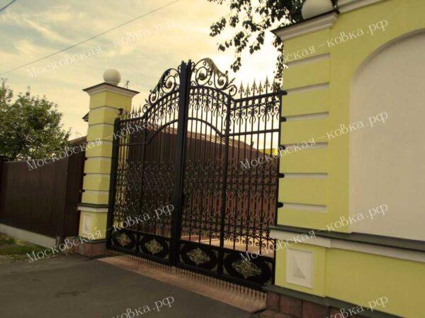 Кованые ворота в дворцовом стиле Артикул КВ-093