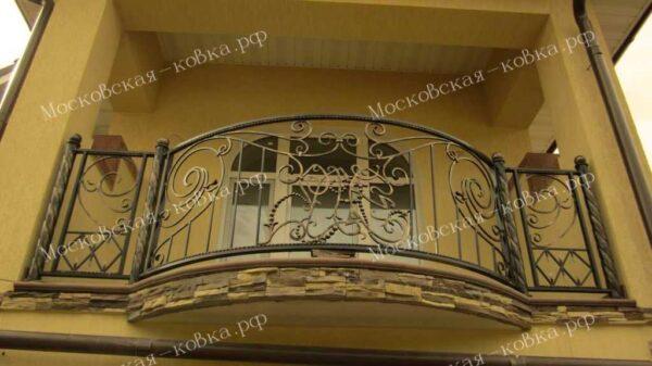 Кованые ограждения балкона АРТИКУЛ КП 2020-02
