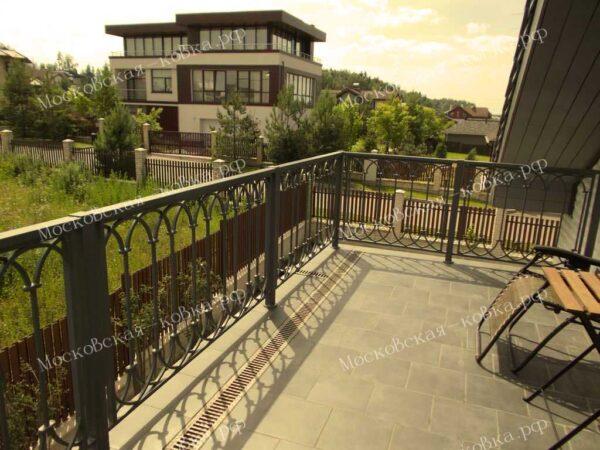 Ограждения балкона геометрической формы АРТИКУЛ КП 2020-09