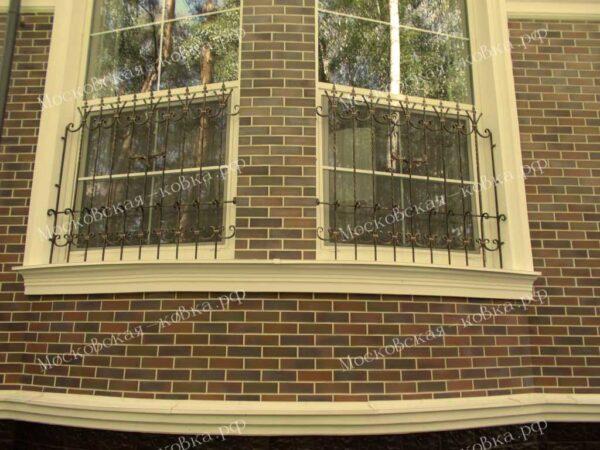 Кованые решетки на окна Артикул КР-019