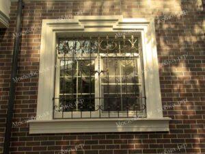 Кованые решетки на окна (3)