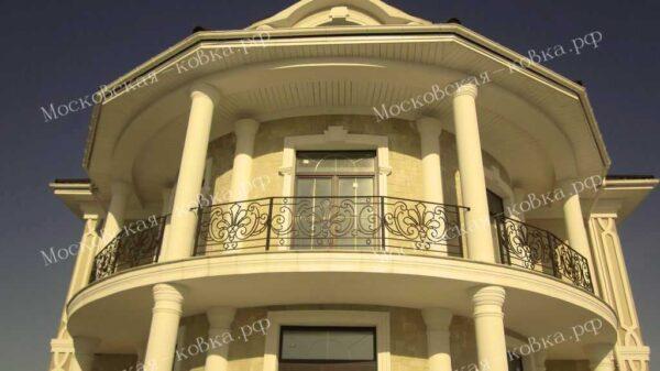 Радиусные кованые балконы АРТИКУЛ КП 2020-17
