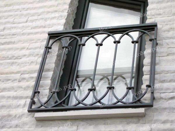 Декоративные кованые решетки на окна Артикул КР-024