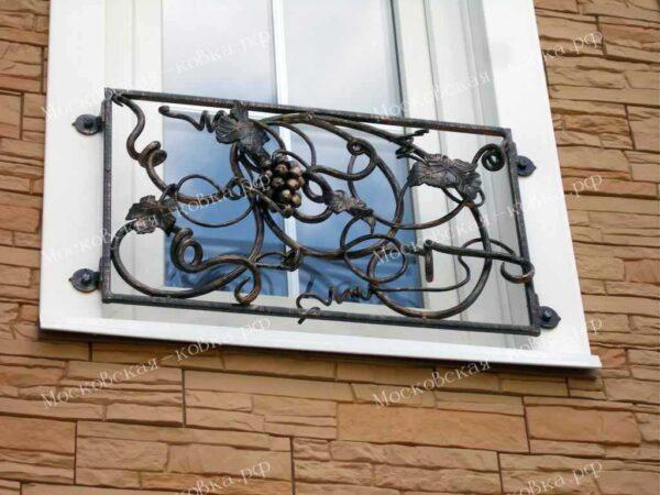 Кованые решетки французский балкончик Артикул КР-023