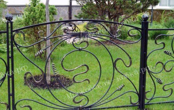 Кованый садовый забор Артикул № КЗ-2020-22