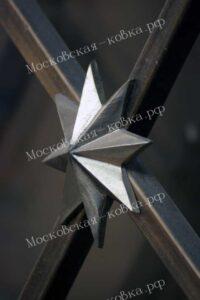 Звезда из металла
