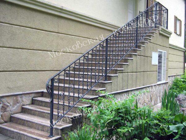 Ограждения лестницы и крыльца кованые АРТИКУЛ КП 2020-76