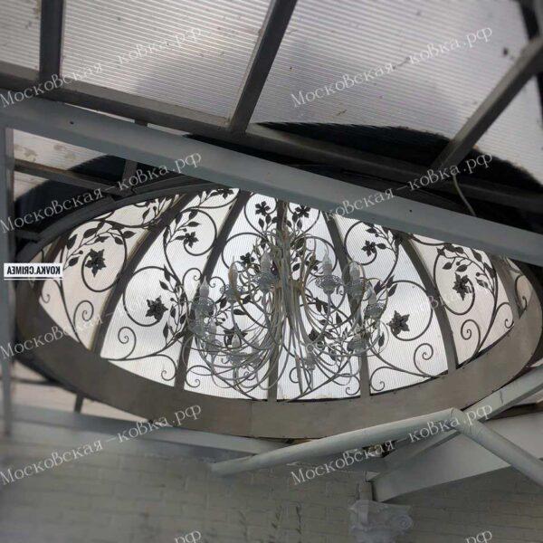 Кованый купол для беседки Артикул № 135