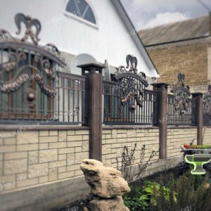 Эксклюзивный кованый забор