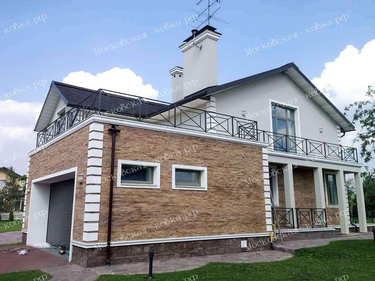 Бюджетные ограждения террасы и балкона
